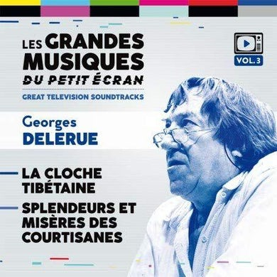 Georges Delerue LA CLOCHE TIBETAINE / SPLENDEURS ET MISERES / Original Soundtrack CD