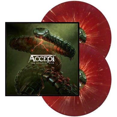 TOO MEAN TO DIE (RED W/ WHITE SPLATTER) Vinyl Record