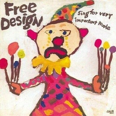 Free Design SING FOR VERY IMPORTANT PEOPLE (PINK SPLATTER VINY Vinyl Record