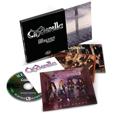 Cinderella MERCURY YEARS BOX SET CD