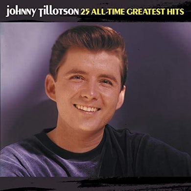 Johnny Tillotson ALL TIME GREATEST HITS CD
