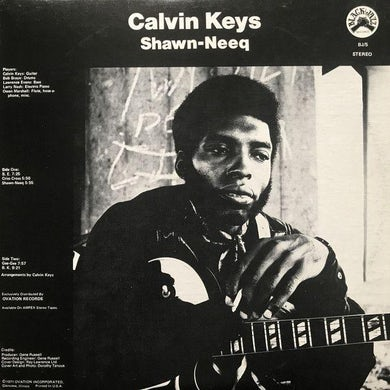 Calvin Keys SHAWN-NEEQ CD