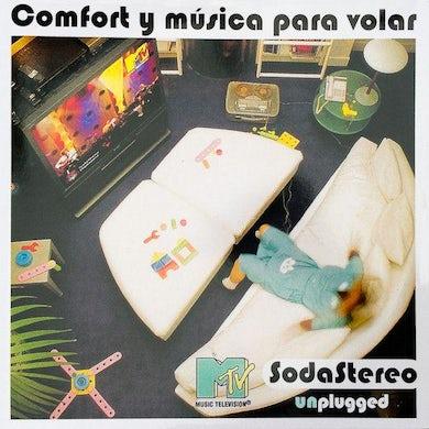 Soda Stereo COMFORT Y MUSICA PARA VOLAR: MTV UNPLUGGED Vinyl Record