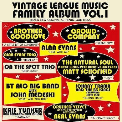 VINTAGE LEAGUE MUSIC FAMILY ALBUM VOL. 1 Vinyl Record