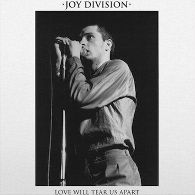 Joy Division LOVE WILL TEAR US APART (SPLATTER VINYL) Vinyl Record