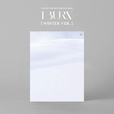 (G)I-DLE I BURN (WINTER VERSION) CD