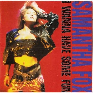 Samantha Fox I WANNA HAVE SOME FUN CD