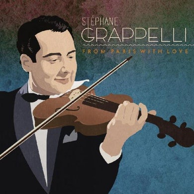 Stephane Grappelli FROM PARIS WITH LOVE CD