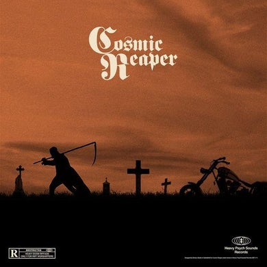 COSMIC REAPER (HALF GREEN FLUO/HALF BLACK VINYL) Vinyl Record