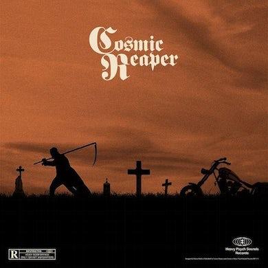 COSMIC REAPER (TRANSPARENT ORANGE/BLACK SPLATTER VINYL) Vinyl Record