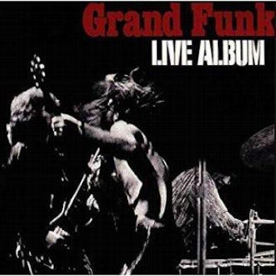 Grand Funk Railroad LIVE ALBUM Vinyl Record