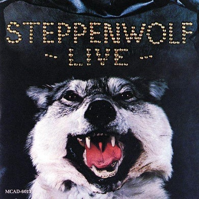 STEPPENWOLF LIVE Vinyl Record