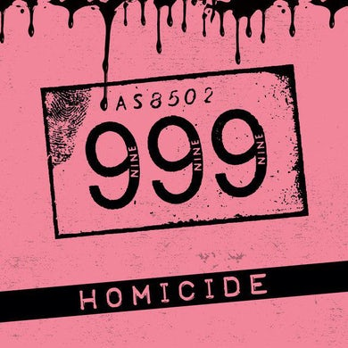 HOMICIDE Vinyl Record