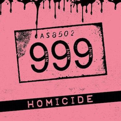 999 HOMICIDE Vinyl Record