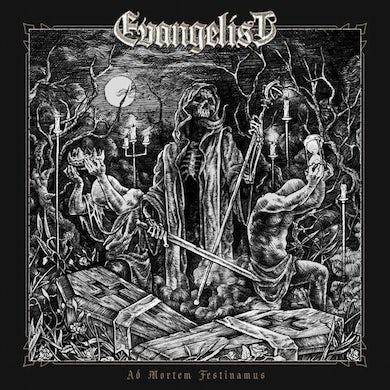 Evangelist AD MORTEM FESTINAMUS Vinyl Record