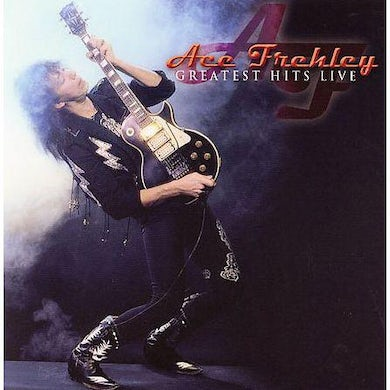 Ace Frehley GREATEST HITS LIVE Vinyl Record