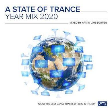 Armin van Buuren STATE OF TRANCE YEAR MIX 2020 Vinyl Record