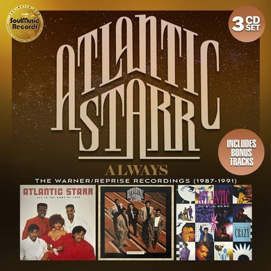atlantic starr ALWAYS: THE WARNER-REPRISE RECORDINGS 1987-1991 CD