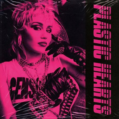 Miley Cyrus PLASTIC HEARTS Vinyl Record