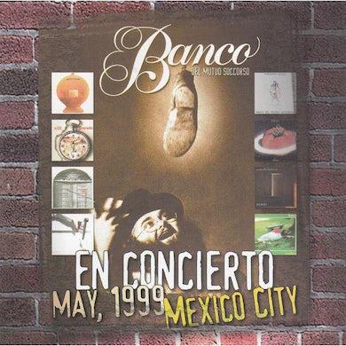 Banco Del Mutuo Soccorso LIVE IN MEXICO CITY 1999 CD