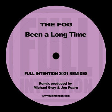Fog BEEN A LONG TIME (FULL INTENTION 2021 REMIX) Vinyl Record