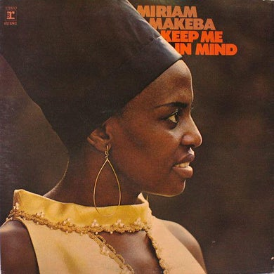 Miriam Makeba KEEP ME IN MIND Vinyl Record