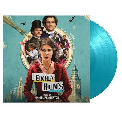 Daniel Pemberton ENOLA HOLMES / Original Soundtrack (SOLID TURQUOISE VINYL) Vinyl Record