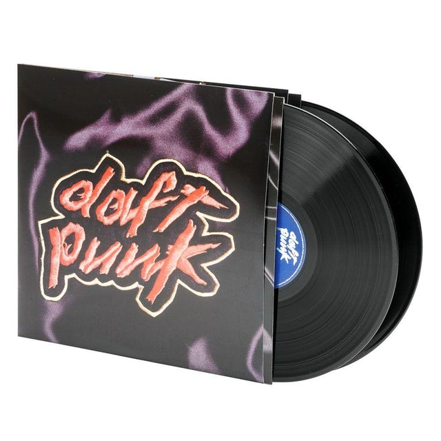Daft Punk HOMEWORK Vinyl Record