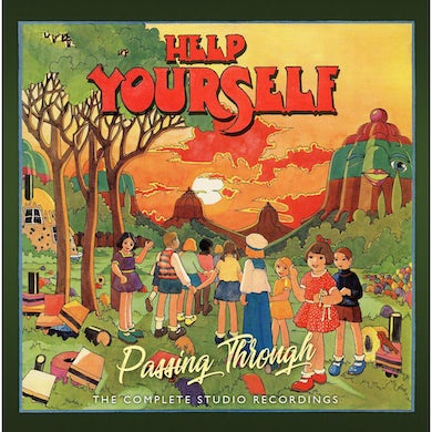 Help Yourself PASSING THROUGH: COMPLETE STUDIO RECORDINGS CD