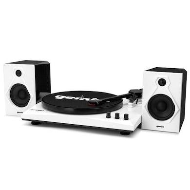 Turntables GEMINI TT-900BW TT MUSIC SYSTEM BT W/SPEAKERS WHT