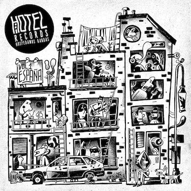 HOTEL RECORDS VOL 1 ESPANA / VARIOUS Vinyl Record