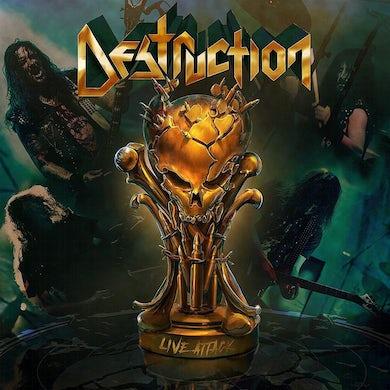 Destruction LIVE ATTACK CD