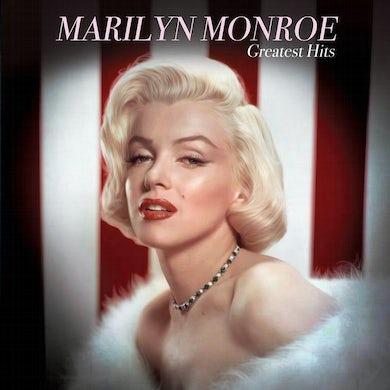 Marilyn Monroe GREATEST HITS (PINK & WHITE VINYL) Vinyl Record
