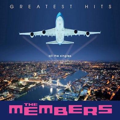 MEMBERS GREATEST HITS (BLUE VINYL) Vinyl Record