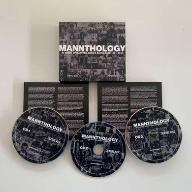 Manfred Mann's Earth Band MANNTHOLOGY CD