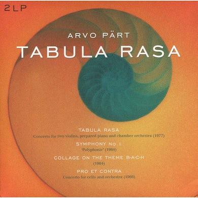 Arvo Part TABULA RASA Vinyl Record