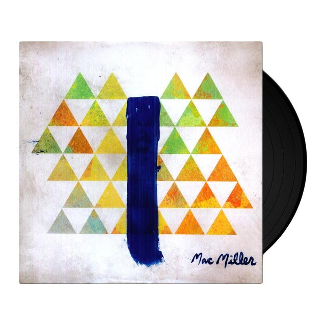 Mac Miller BLUE SLIDE PARK Vinyl Record