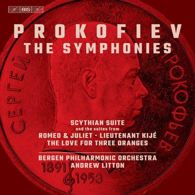 Prokofiev / Bergen Philharmonic Orch / Bondarenko SYMPHONIES Vinyl Record