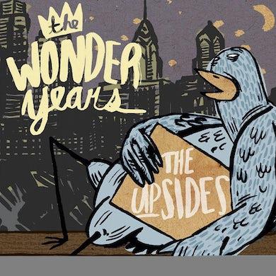 Wonder Years UPSIDES (PURPLE & CLEAR SPLIT VINYL) Vinyl Record