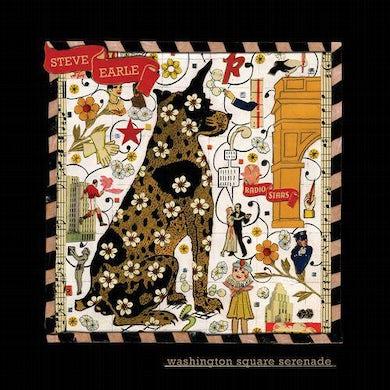 Steve Earle & The Dukes WASHINGTON SQUARE SERENADE (METALLIC GOLD COLOR) Vinyl Record