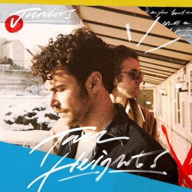 Tall Heights JUNIORS (RED & WHITE SWIRL) Vinyl Record