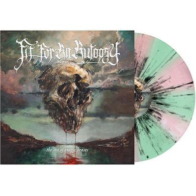 Fit For An Autopsy SEA OF TRAGIC BEASTS (MINT GREEN & PINK / BLACK) Vinyl Record