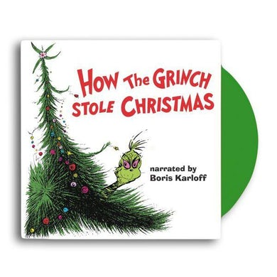 Dr. Seuss HOW THE GRINCH STOLE CHRISTMAS OST - Limited Edition Green Vinyl Record