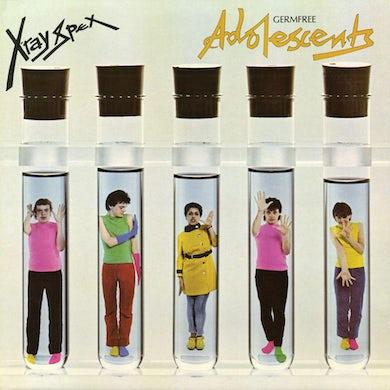 X-Ray Spex GERMFREE ADOLESCENTS Vinyl Record - Colored Vinyl, Limited Edition, Pink Vinyl