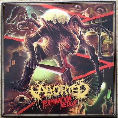 Aborted TERMINATION REDUX   (EP)  (GER) Vinyl Record - 10 Inch Single, Colored Vinyl, Orange Vinyl
