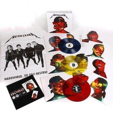 Metallica HARDWIRED: TO SELF-DESTRUCT Vinyl Record