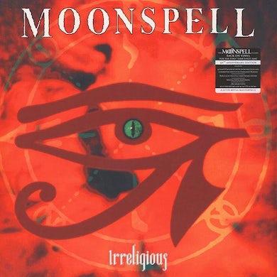 Moonspell IRRELIGIOUS: GOLD PRESSING  (W/BOOK) Vinyl Record - w/CD, Colored Vinyl