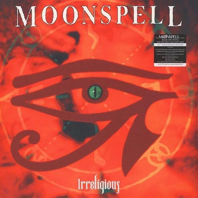 Moonspell IRRELIGIOUS: RED PRESSING  (W/BOOK) Vinyl Record - w/CD, Colored Vinyl