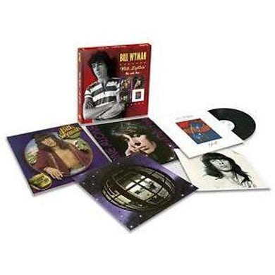Bill Wyman WHITE LIGHTNIN: SOLO BOX Vinyl Record Box Set