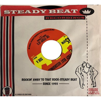 Steady 45'S TROUBLE IN PARADISE Vinyl Record